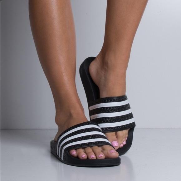 4ef6eeca3601ec adidas Shoes - Adidas Adilette Slides